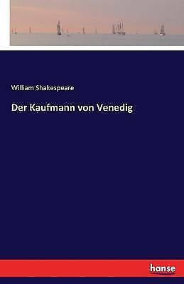 Der Kaufmann Von Venedig by William Shakespeare (Paperback, 2016)