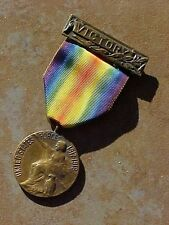ORIGINAL WWI SMITHTOWN LONG ISLAND NY VICTORY SERVICE MEDAL