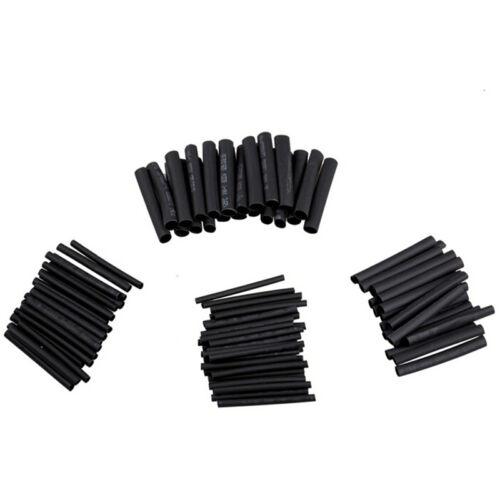 127x Heat Shrink Tubing Shrinkable Tube Assortment Kit Sleeving Wrap Wire 2:1 Jv