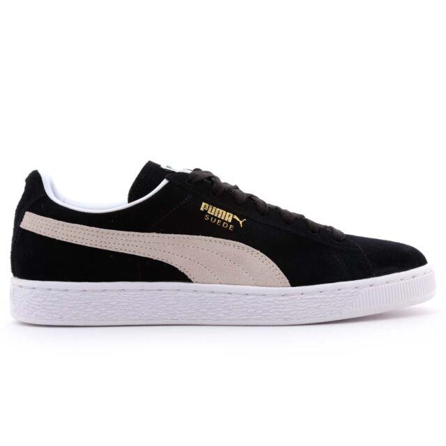 428ba56ae PUMA SUEDE CLASSIC+ - Zapatillas casual para hombre y mujer, color negro