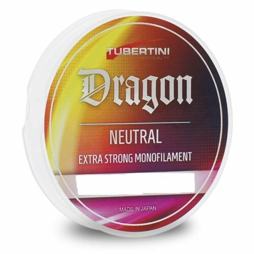 MONOFILO TUBERTINI DRAGON NEUTRAL 100 MT 0,18 mm FILO PESCA MULINELLO FINALI