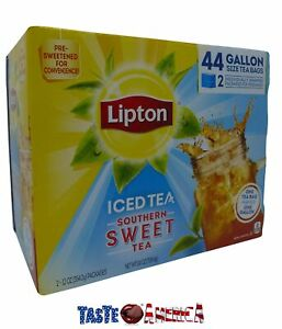 Details About Lipton Iced Tea Southern Sweet 44 X Gallon Size Bags 708 4g