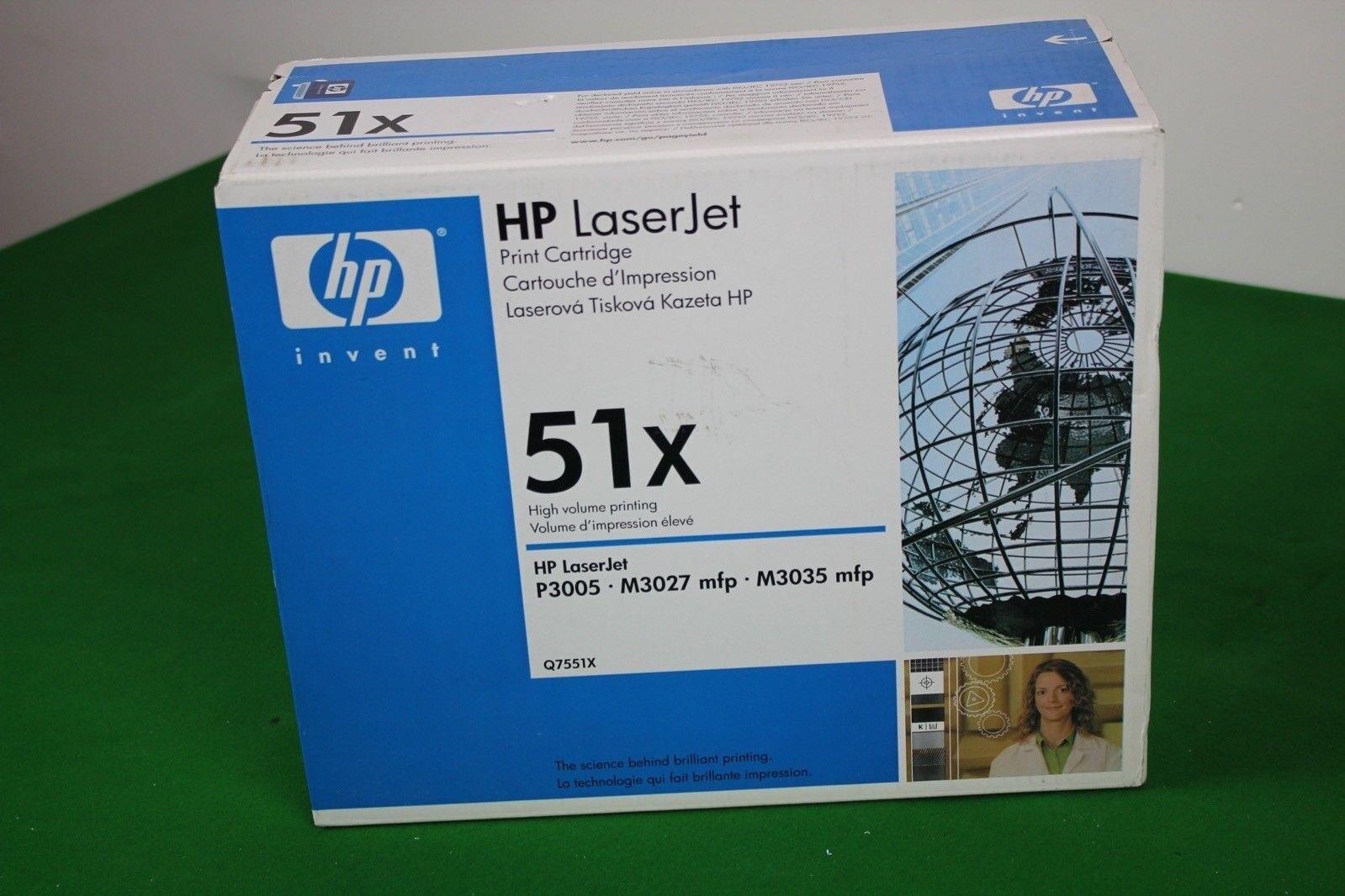 Used HP LaserJet 51X Print Cartridge, Office Toner Cartridge For