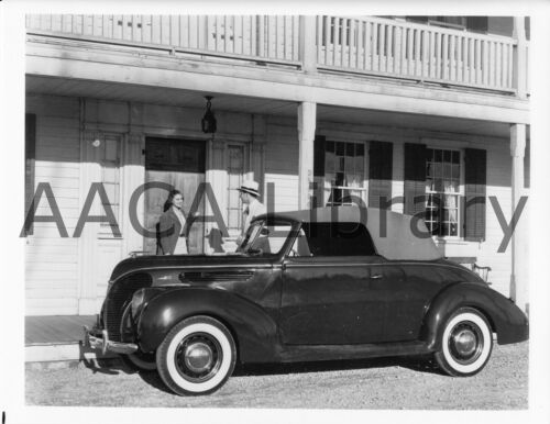 Ref. # 42037 Factory Photo 1938 Ford Deluxe Convertible Coupe