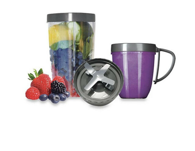 NUTRIBULLET Magic Bullet 5Pcs Deluxe UPGRADE KIT Stainless Dishwasher Safe