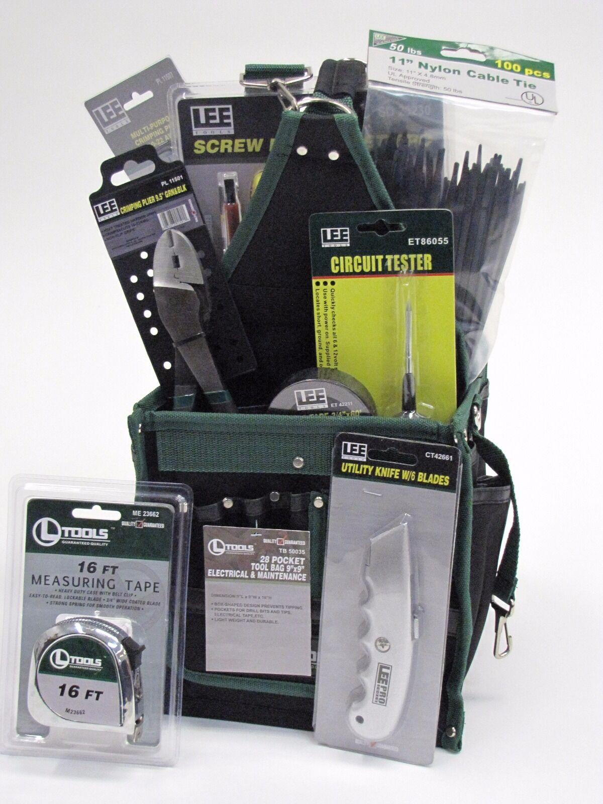 Electrical Tool Kit - 43 Pieces + Tool Bag