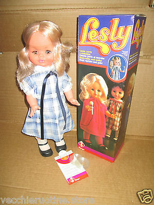 Furga Lesly Leslie Canta E Cammina Rara!! Poupee Muneca Vintage Bambola Doll 4 Om Zowel Thuis Als In Het Buitenland Bekend Te Zijn Voor Uitstekende Afwerking, Bekwaam Breien En Een Elegant Ontwerp