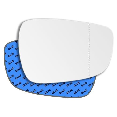 Right Driver Side Wide Angle Mirror Glass for Hyundai i30 2012-2017 0475RAS