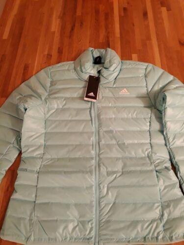 Puffa bnwt cappotto Aqua Adidas donna Varilite 14 da 12 Size con piumino Giubbotto g5dq7gw