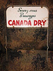 Vintage-Original-Canada-Dry-Rack-Display-Sign-14-x19-Inch-Coca-Cola-Pepsi