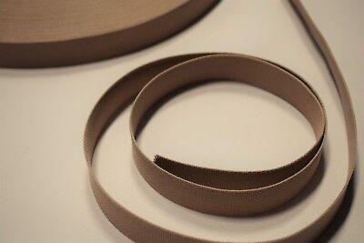 "Wheat Tan 3/"" Inch Military Spec Webbing 5 Yard Roll Fabric Outdoor Camo #266"