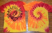 Grateful Dead Tie Dye T-shirt Logo Style 50 Year Anniversary Gdp Licensed Tee