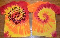 Grateful Dead Tie Dye T-shirt Logo Style 50 Year Anniversary Gdp Licensed Tee