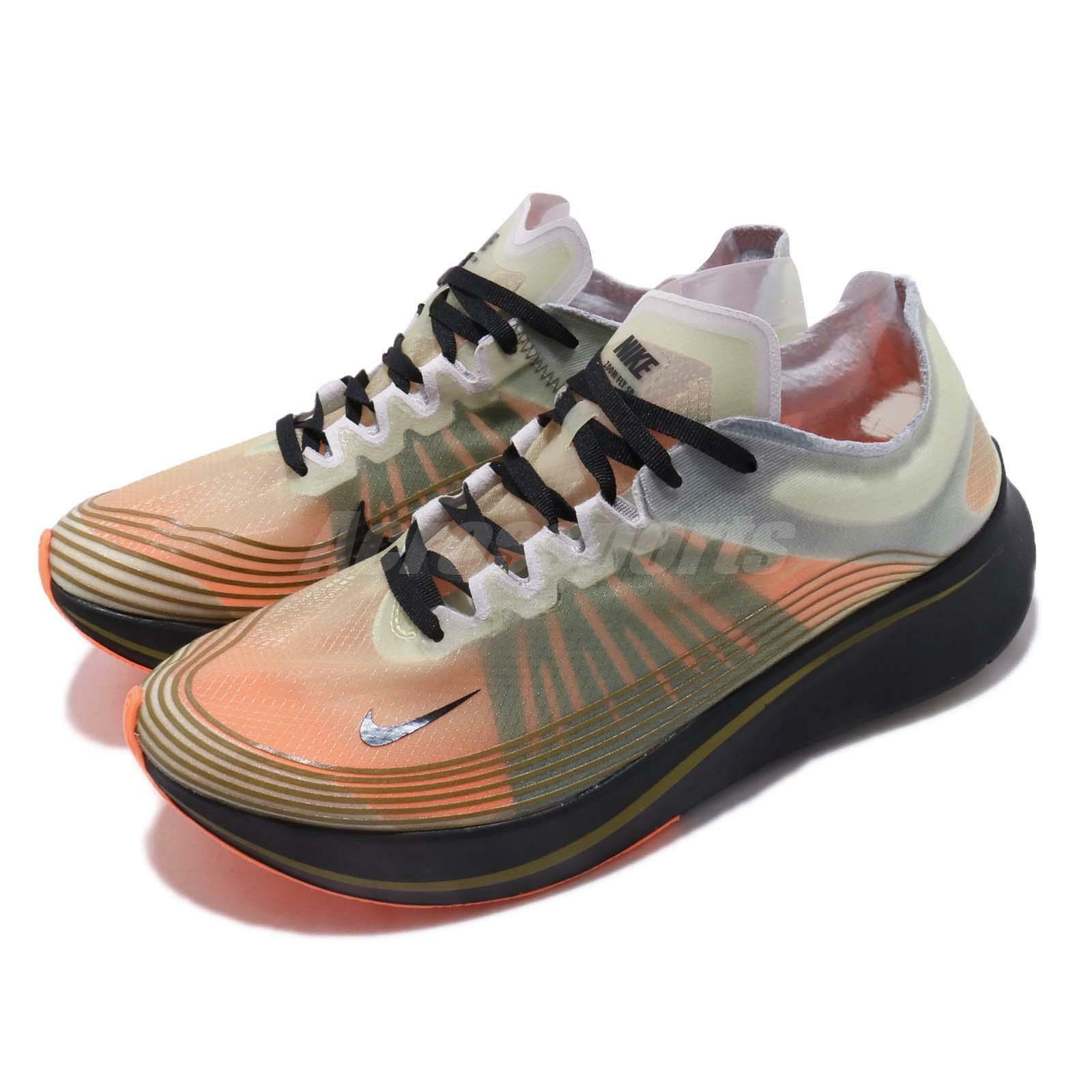 Sp - olive olive olive green nike zoom - fliegen aj9282-200 running schuhe orange schwarz - mens f7e53c