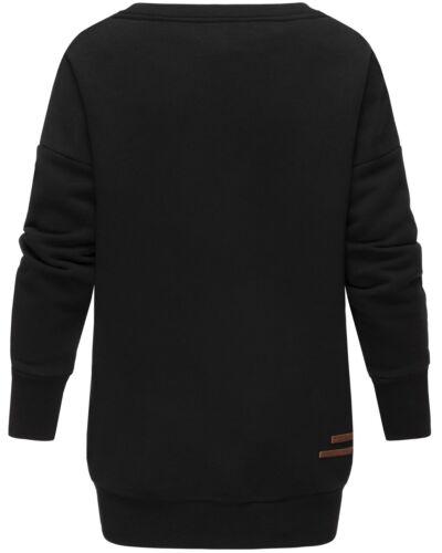Marikoo Damen Sweat Pullover Oversize Sweatshirt Pulli Lange Pullover SETSUKOO
