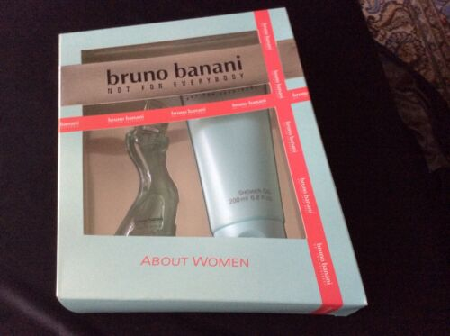 Bruno Banani Not for Everbody About W. 20ml EDT Spray 200ml Shower Gel  WqKzG KkfNG
