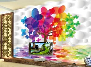 3D Magical Tree 755 Wall Paper Murals Wall Print Wall Wallpaper Mural AU Kyra
