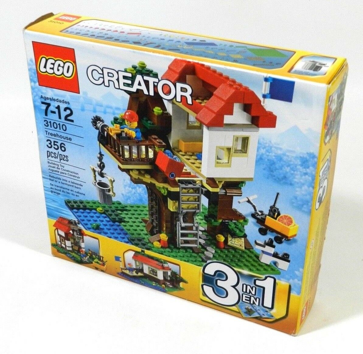Creator Treehouse 3 In 1 New Lego 31010 Nnufdd4415 Lego Complete