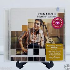 Room for Squares John Mayer CD 2001 Aware Records Columbia