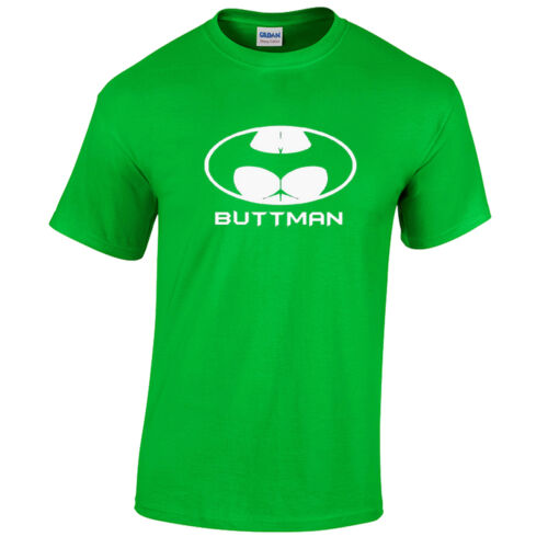 Buttman T-Shirt Mens funny rude gift present