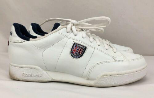 Reebok Women`s Vintage NPC Crest White / Navy Snea