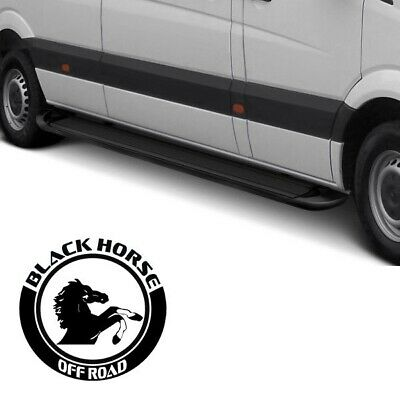 BLACK HORSE FITS NISSAN PATHFINDER 2013-2017 Vortex Running Boards VO-NIPA13