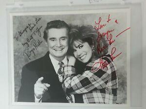 Rare-Regis-Philbin-amp-Kathie-Lee-Gifford-Signed-8x10-Photo-Personalized-Dwayne