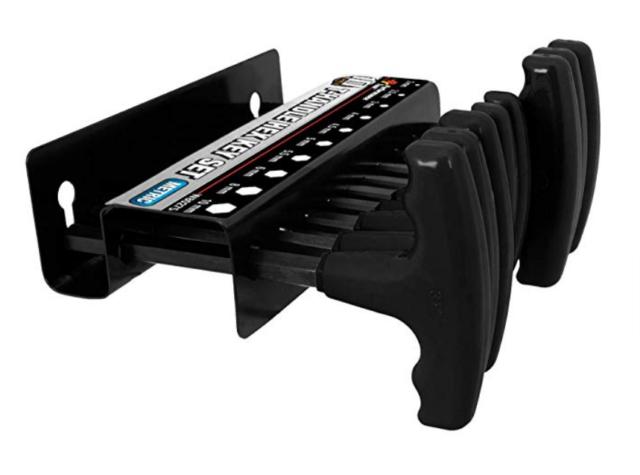 Sets Hex Keys Hand Tool 10-Piece Star Driver Set T-Handle Torx Key Screwdriver