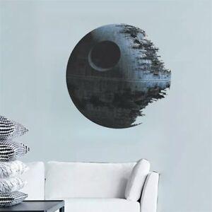 Star-Wars-Todes-Stern-XL-3D-Wandtattoo-Wand-Aufkleber-Bild-Deko-Film-Tapeten-Neu