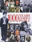 1000 Years of Famous People by Pan Macmillan (Hardback, 2002)
