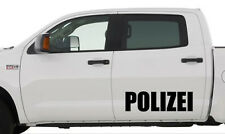 Polizei Aufkleber - ca. 60 cm