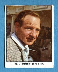 [GCG] CAMPIONI DELLO SPORT 1966/67 - Figurina/Sticker n. 80 - INNES IRELAND -Rec