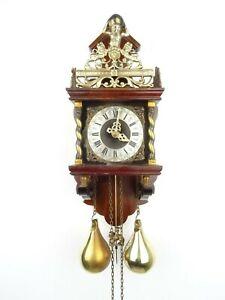 Zaanse Dutch Wall Clock Vintage Repair Warmink Junghans