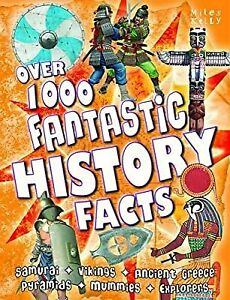 Over 1000 Fantastic History Facts, Miles Kelly, Used; Good Book