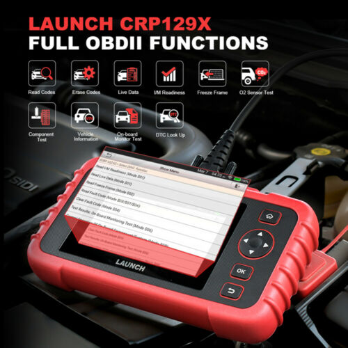 Launch X431 CRP129X Valise Diagnostique Multimarque ABS SRS Moteur CRP129E Pro