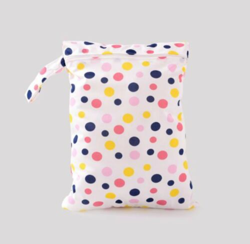 Large Children Kids Wet Bag for Nappies Swimmers Bathers Swimming waterproof
