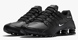 New-Nike-Shox-NZ-EU-Shoes-Black-White-Men-039-s-Size-9-5-501524-091-Sneakers-Shoes