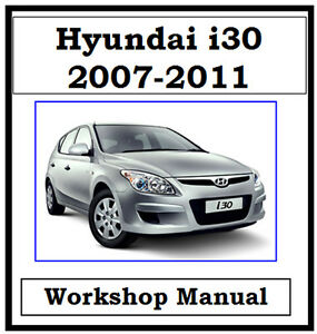 hyundai i30 service manual free download