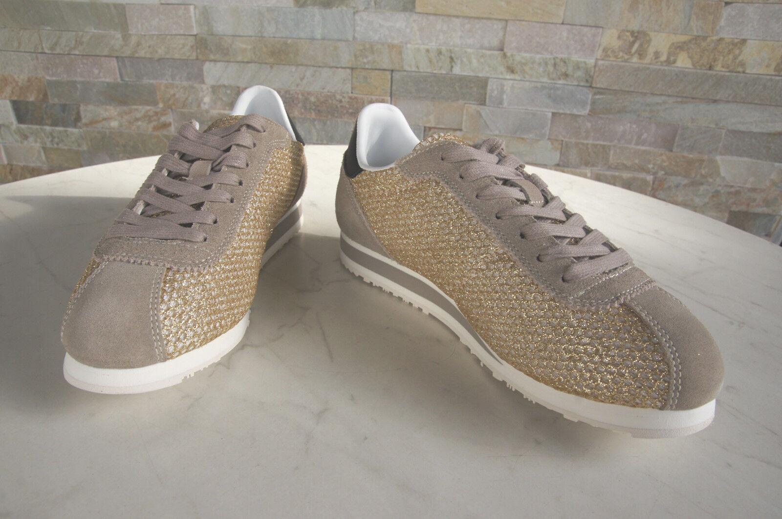 bluER USA 37 scarpe da ginnastica normalissime scarpe Bowling Beige Beige Beige oro Nuovo ex UVP bb6e3c