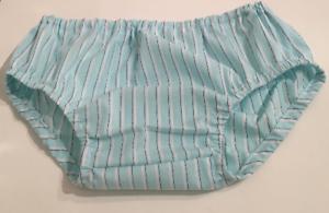 Tippy N Boots Carolina Blue Striped Bloomer