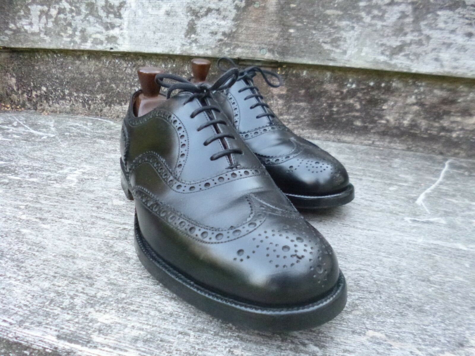 CHURCH BROGUES – schwarz schwarz schwarz – UK 8 – ATTLEBGoldUGH – EXCELLENT CONDITION  f1bdbc