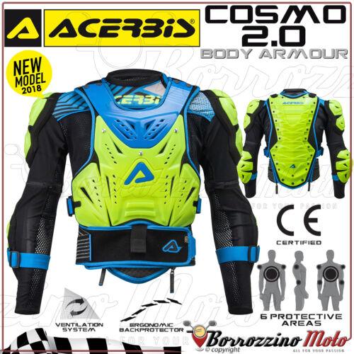 PETTORINA PROTEZIONE COMPLETA ACERBIS COSMO 2.0 MOTO CROSS ENDURO OFFROAD TG S//M