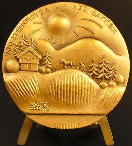 Medal-Alf-Proysen-Singer-amp-Writer-Norwegian-Singer-amp-Writer-Norway-Medal
