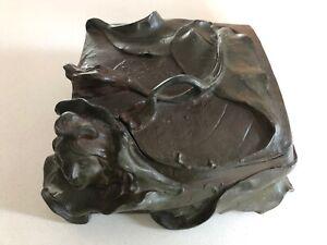 F. Madurell art nouveau doré Bijoux Cercueil