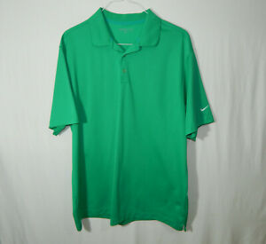 Nike-Golf-Short-Sleeve-Polo-Shirt-Green-Size-Extra-Large-XL-Mens-Clothing