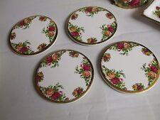 Royal Albert Country Roses Conjunto de Cuatro Posavasos