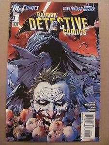 Detective-Comics-1-DC-Comics-2011-NEW-52-Tony-Daniel-1st-Print-9-6-Near-Mint