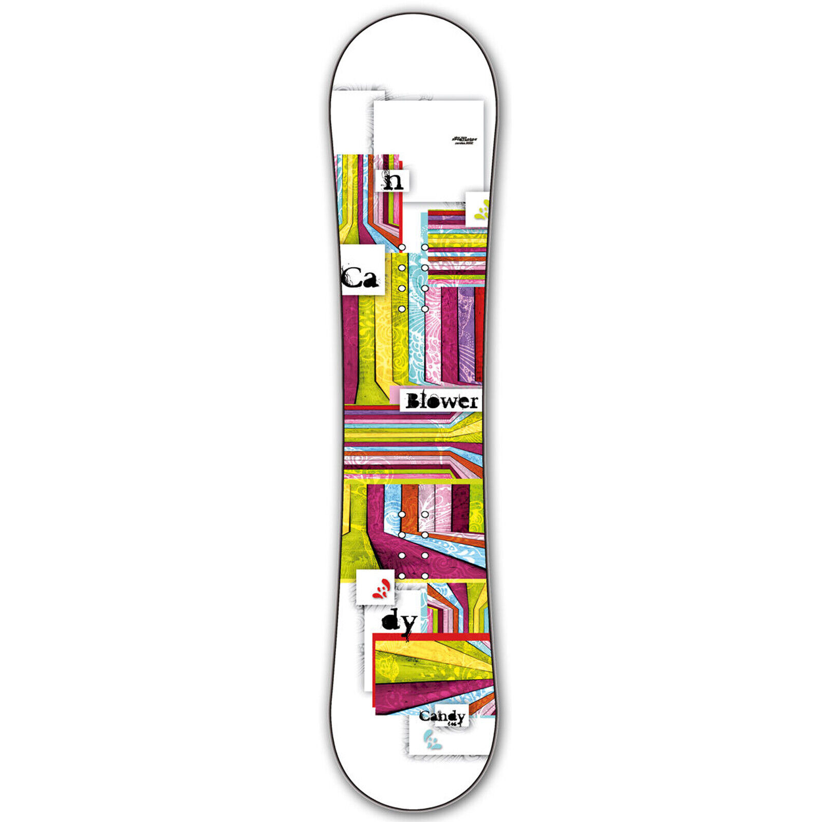 Snowboard Mujer  Blower Candy Girl  141cm blanco Camber