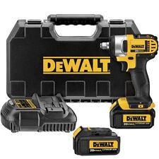 "DEWALT 20V MAX XR Li-Ion 1/2"" Impact Wrench Kit w/ HR Anvil DCF880HM2 Refurb"