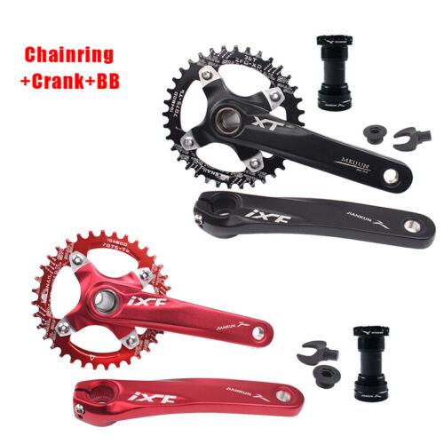 SRAM MTB Bike Crankset With BB 104BCD 32-42T Chainring 170mm Crank fit Shimano